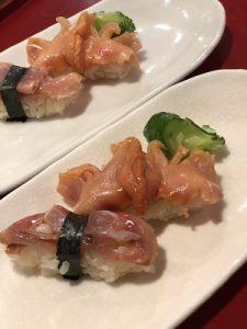 2019.5.27 お寿司の会 岩槻ぎゃらりーかかや お寿司2