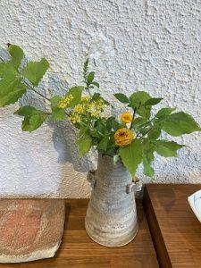 2019.8 夏のかかや 花器6 陶器ディスプレー かかや春日部