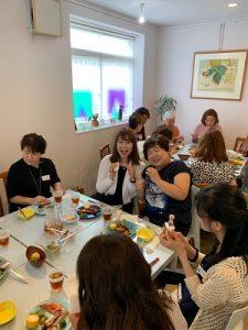 2019/8/28 納涼会1 かかやクッキングサロン 春日部 料理教室