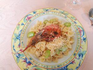 ファルファーレと魚介類のアーリオ・オーリオ かかやクラブ 2020.2.26 かかやクッキングサロン 料理教室 春日部